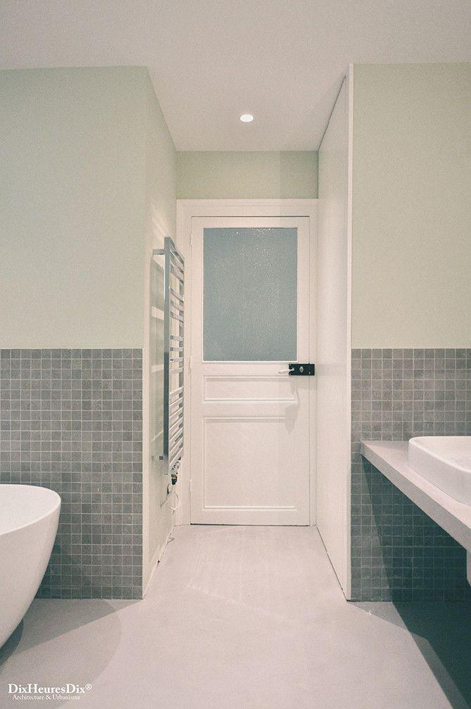 Entrée de la salle de bain principale