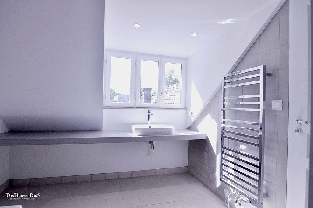 Espace de la salle de bain annexe