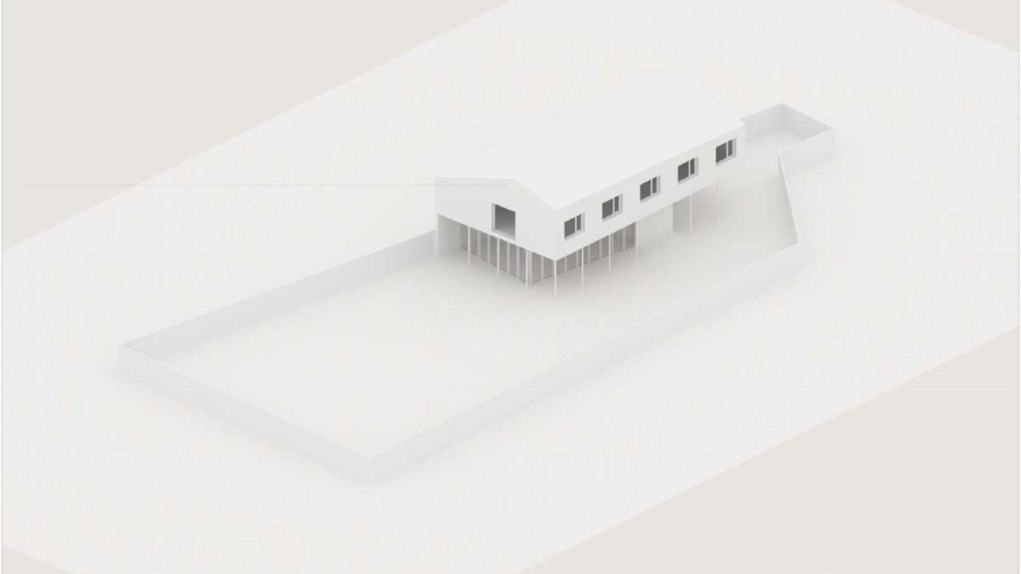 Maquette de l'espace de la maison