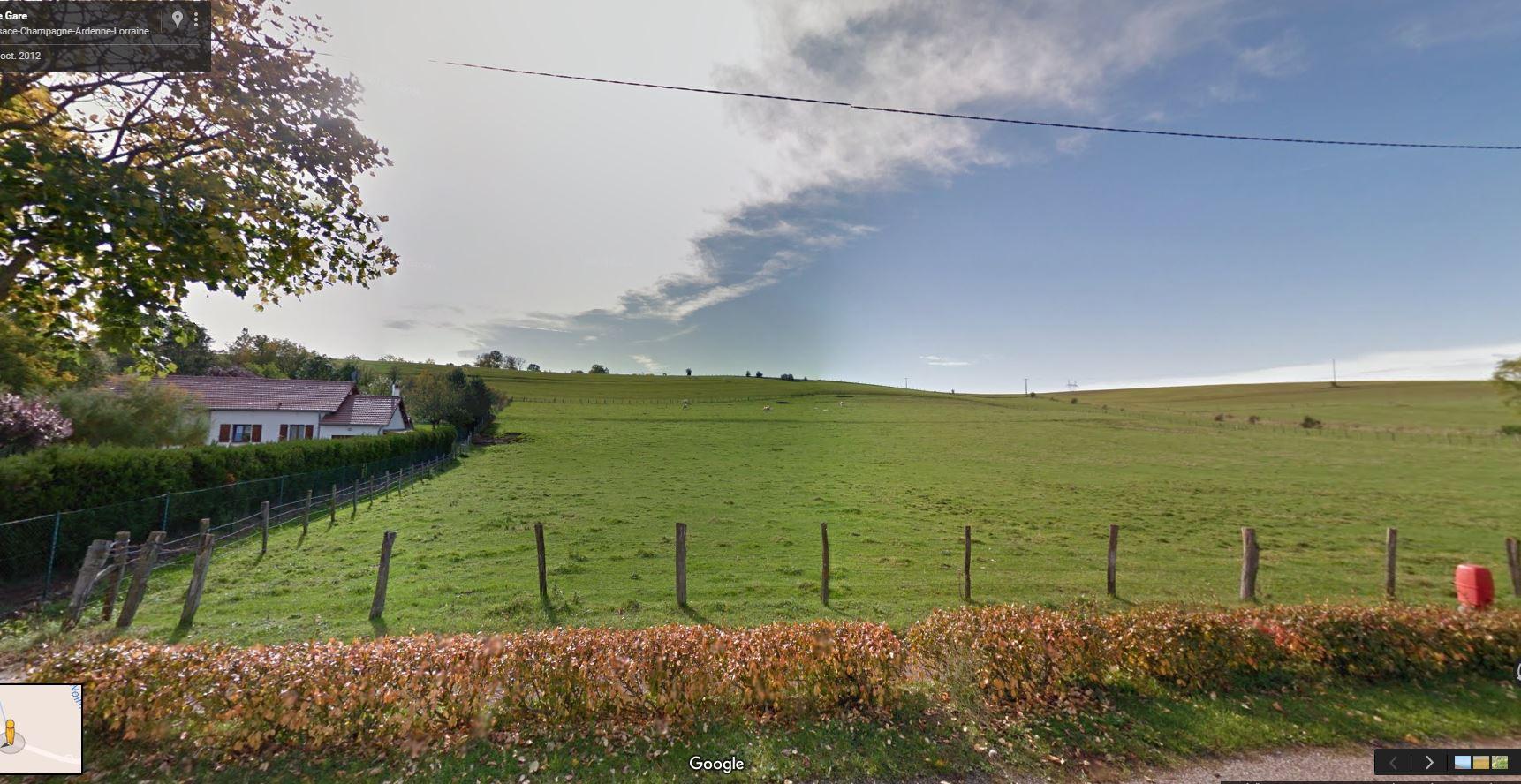 Photo de l'existant google maps
