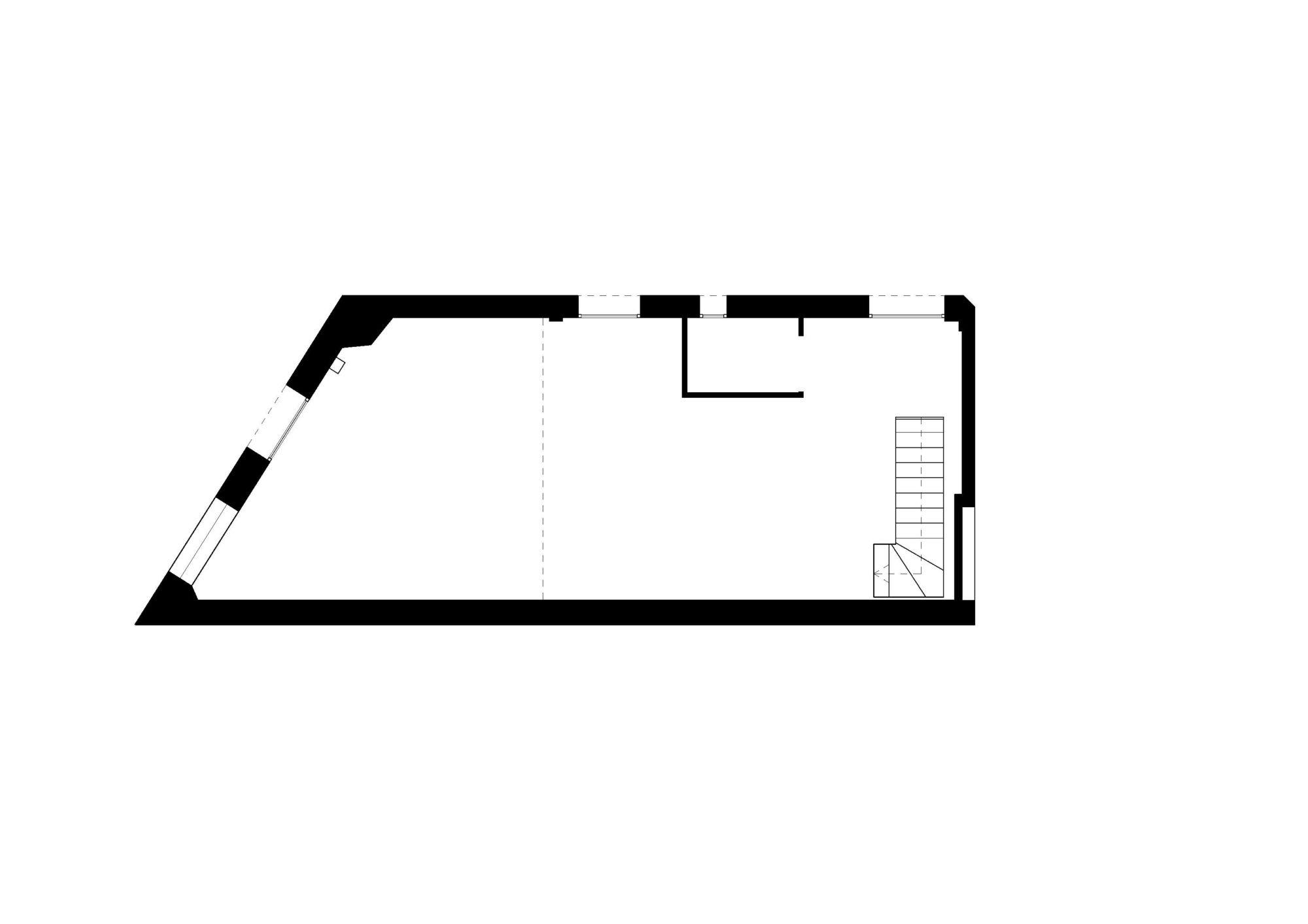 Perspective de construction d'une élévation avec bardage bois et baie vitrée de bureau à champigny par l'agence DIxHeuresDix. Architecture, 3D, image, GraphismeRéalisation - 3D, graphisme, design, perspective, architecture, création étage, sur-élévation, bardage bois