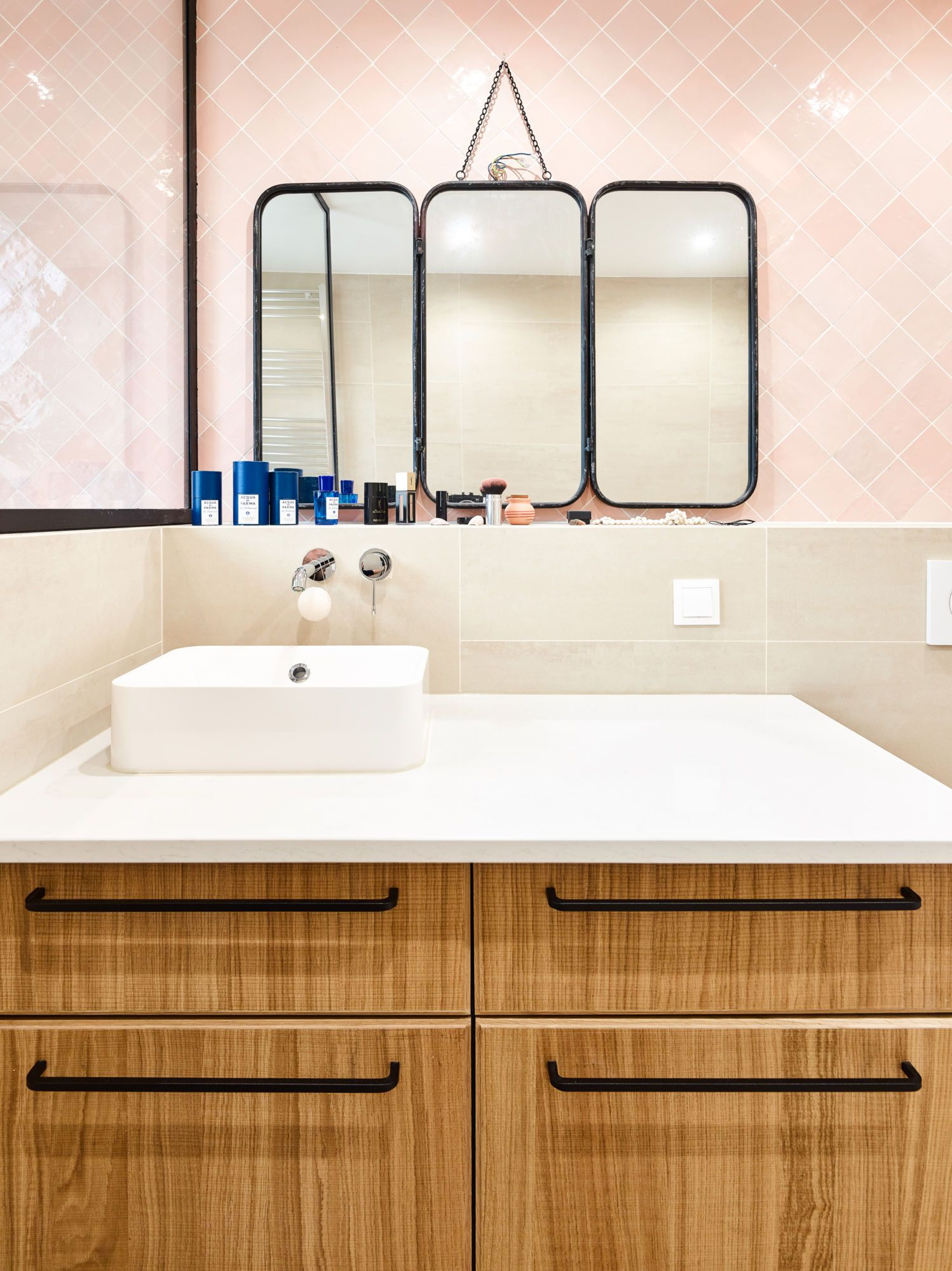 Salle de bain appartement vincennes