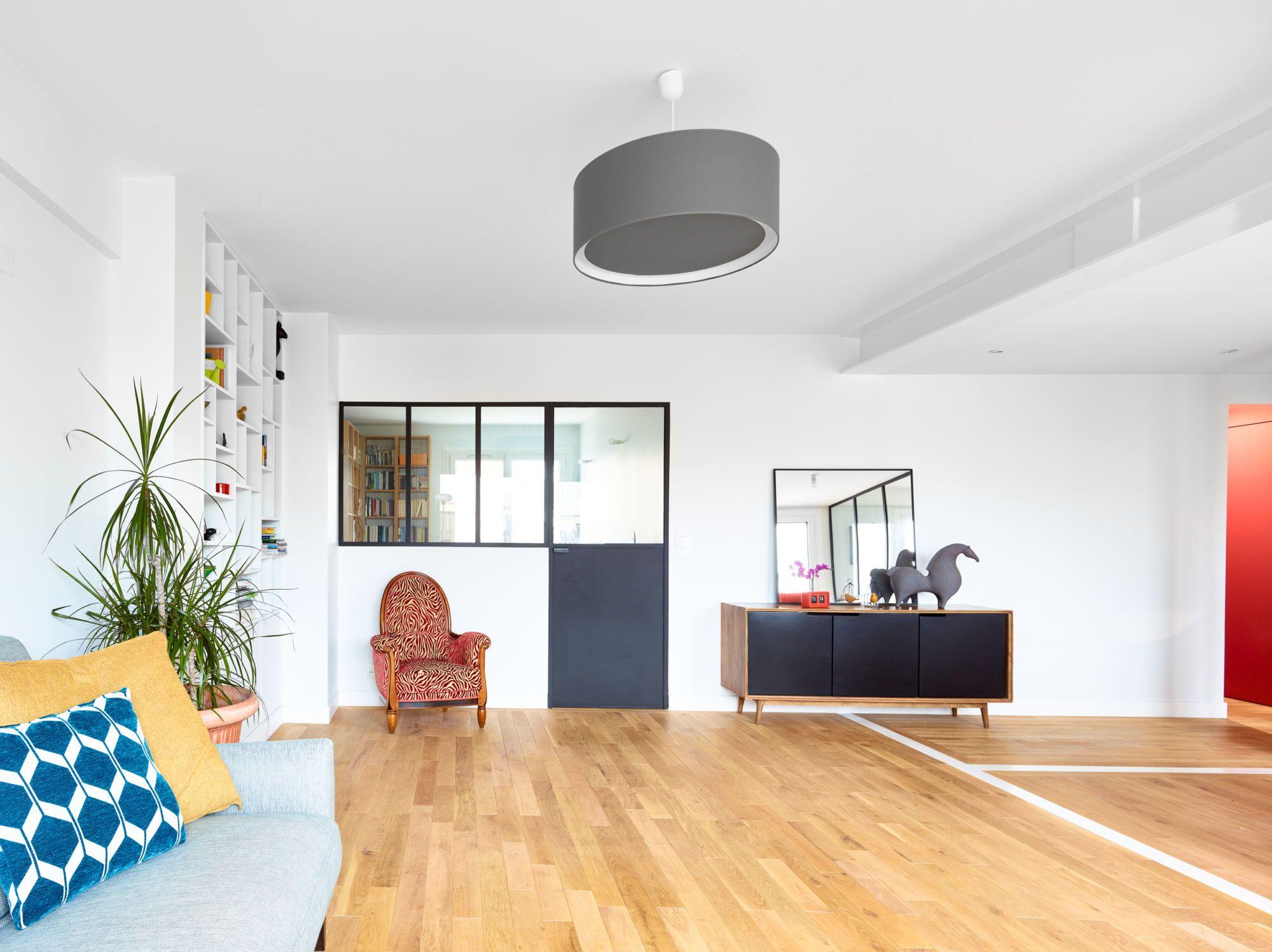 Séjour appartement Vincennes