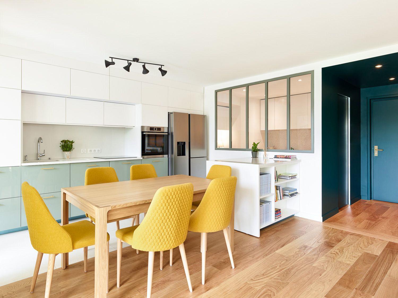 10h10, dixheuresdix, appartement, restructuration, architecture, salle à manger, cuisine, verrière