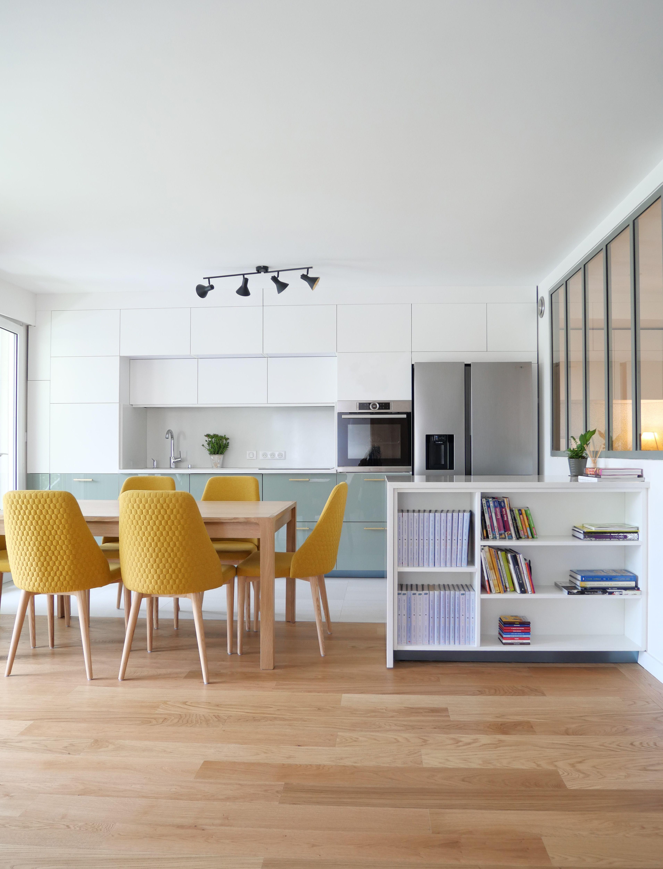 10h10, dixheuresdix, appartement, restructuration, architecture, cuisine, salle à manger, rangements, design